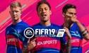 Con Cristiano, Messi y Neymar, el top 10 de valorizaciones para el FIFA 19