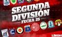 Segunda División: partidos de candela por la fecha 25 en el ascenso