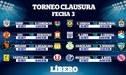 Torneo Clausura 2018: conoce la programación de la tercera fecha del Descentralizado