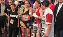 Linda Lecca cayó ante Raja Amasheh y no pudo coronarse campeona supermosca de la OMB [RESUMEN]
