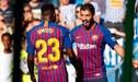 Con gol de Suárez, el Barcelona derrotó 2-1 a la Real Sociedad por la liga española [RESUMEN Y GOLES]