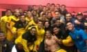 Jugadores de la Academia Cantolao festejaron triunfo ante la U con particular baile [VIDEO]