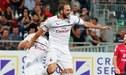 AC Milan empató 1-1 ante Cagliari con gol de Higuaín en la Serie A [RESUMEN Y GOLES]
