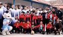 Real Garcilaso se motivó previo choque ante Sport Boys: visitó albergues antes de llegar a Lima