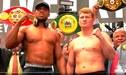 Joshua y Povetkin hicieron el pesaje oficial en la previa al combate por el título mundial de pesos pesados [VIDEO]