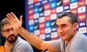 """Ernesto Valverde: """"Por el momento el Real Madrid no es problema, cuando juguemos lo analizaremos"""""""