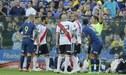 Boca Juniors vs River Plate: el brutal codazo de Edwin Cardona a Pérez que debió ser tarjeta roja [VIDEO]