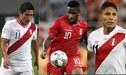 Farfán, Ávila y Ruidíaz son las cartas de gol de Ricardo Gareca ante Chile y Estados Unidos