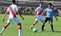 Selección Peruana Sub 17 cayó 4-3 ante Uruguay en Montevideo