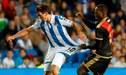 Luis Advíncula sigue imparable y anotó su primer gol en España