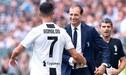 """Massimiliano Allegri sobre Cristiano Ronaldo: 'Iba a cambiarlo, pero él no me lo hubiese perdonado"""" [VIDEO]"""