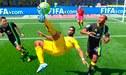 Descomunal golazo de chalaca desde fuera del área en el FIFA 19 [VIDEO]