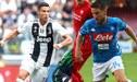 Juventus vs Napoli EN VIVO: con Cristiano Ronaldo ganan 3-1 por la Serie A