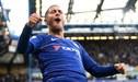 Así fue la gran definición de Eden Hazard para marcar el primero del Chelsea ante el Liverpool [VIDEO]