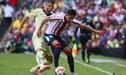 América empató 1 -1 ante las Chivas en el Clásico Nacional de México [LIGA MX]