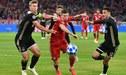 Bayern Munich no pudo en casa e igualó 1-1 con el Ajax en la Champions League [RESUMEN Y GOLES]