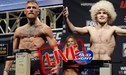McGregor vs Khabib EN VIVO: minuto a minuto de los pesajes por el UFC 229 en Las Vegas