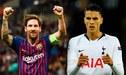 """Erik Lamela: """"A mi viejo le debía llevar la camiseta de Messi, si no me dejaba de hablar"""""""