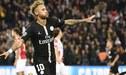 Neymar igualó a Kaká como el máximo goleador brasileño en la Champions League