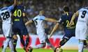Boca Juniors rescató un empate 2-2 ante Racing en la Superliga Argentina [VIDEO GOLES]