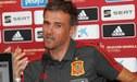 Luis Enrique habló sobre la lesión de Bale de cara al amistoso ante Gales