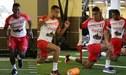 Selección Peruana entrenó pensando en el amistoso ante Estados Unidos