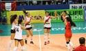 Perú ganó 3 sets a 0 a Chile y se llevó la medalla de bronce del Sudamericano Sub 20 de Vóley [VIDEO]