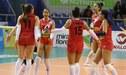 Perú ganó 3 sets a 0 a Chile y se llevó la medalla de bronce del Sudamericano Sub 20 de Voley Femenino