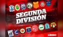 Segunda División: tabla de posiciones y todos los resultados tras jugarse la penúltima fecha