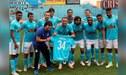 Emanuel Herrera celebró con la hinchada su récord de goles en Sporting Cristal [FOTOS Y VIDEO]