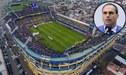 "Hijo de Jair Bolsonaro arremete contra Boca Juniors: ""La Bombonera tiene mal olor"""