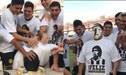 Maradona y el tortazo que recibió por su 58 cumpleaños
