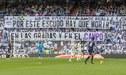 La protesta de las tribunas de Real Madrid, en pleno partido ante Real Valladolid