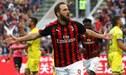 ¡SENSIBLE BAJA! AC Milan enfrentará a Real Betis sin Gonzalo Higuaín