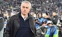 José Mourinho explicó la razón de su gesto hacia los hinchas de Juventus