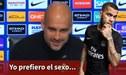 """Pep Guardiola y su genial respuesta a Dani Alves: """"Yo prefiero el sexo"""" [VIDEO]"""