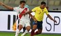 Cristian Benavente tuvo su primer partido oficial como titular con Ricardo Gareca en un Perú vs Ecuador [VIDEO]