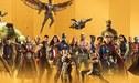 Marvel Studios comparte la línea de tiempo oficial de sus películas