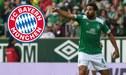 Bayern Múnich saludó a Claudio Pizarro previo al partido ante el Werder Bremen