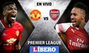 Manchester United vs Arsenal EN VIVO por la fecha 15 de la Premier League