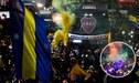 La espectacular despedida de los hinchas de Boca Juniors a sus jugadores [VIDEO]