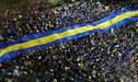 Los aficionados de Boca Juniors en Madrid se preparan para la final de sus vidas ante River Plate
