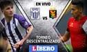 Alianza Lima vs Melgar EN VIVO: Partido por la segunda semifinal del Descentralizado 2018