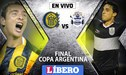 Rosario Central vs Gimnasia La Plata EN VIVO: Final Copa Argentina [GUÍA TV]