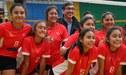 ¡Campeonas! Perú ganó la medalla de oro en los Juegos Sudamericanos Escolares Arequipa 2018