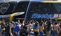 River Plate vs. Boca Juniors: los buses con los jugadores llegarán 5 horas antes del partido