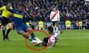 River vs Boca EN VIVO: Wilmar Barrios ve la tarjeta roja y deja al equipo 'Xeneize' con 10 jugadores [VIDEO]