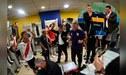 Jugadores de River Plate celebran con insultos hacia Daniel Angelici y Mauricio Macri [VIDEO]