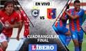 Cienciano vs Alianza Universidad EN VIVO: partidazo inaugural del Cuadrangular final por el Ascenso