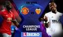 Manchester United vs Valencia EN VIVO: partidazo por la Champions